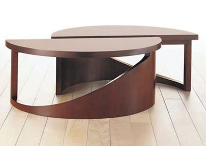 Picture of Curved Occasional Table