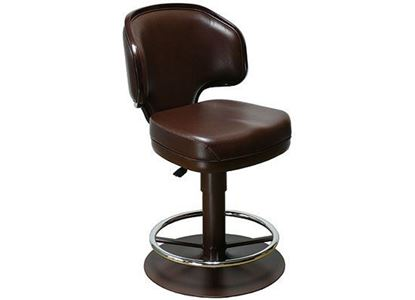 Leather Casino Chair